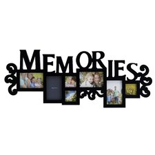 7 Memories Scroll Opening Collage Picture Frame