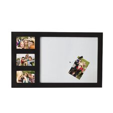 Command Whiteboard Frame with 3 Opening