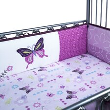 Butterfly Lane 4 Piece Bumper Set