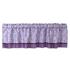 "Lavender Jungle 54"" Window Valance"