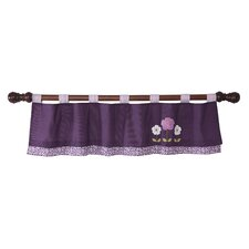 "Plumberry 53.5"" Window Valance"