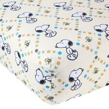 BFF Snoopy™ Fitted Sheet