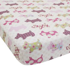 Puppy Tales Fitted Sheet