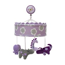 Lavender Jungle Musical Mobile