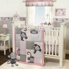Pinkie 3 Piece Bedding Set