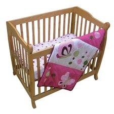 Raspberry Swirl Crib Bedding Collection