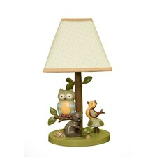 <strong>Lambs & Ivy</strong> Enchanted Forest Table Lamp with Shade
