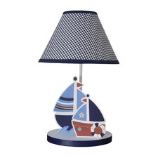 """Sail Away 12"""" H Table Lamp with Empire Shade"""