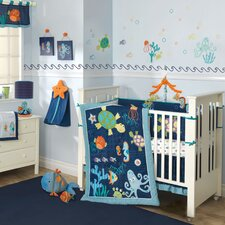 Bubbles and Squirt Crib Bedding Collection