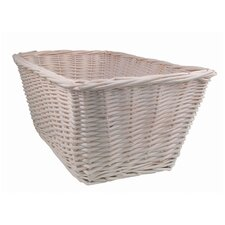 <strong>Lambs & Ivy</strong> Madison Avenue Baby Basket in White