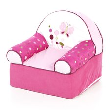 <strong>Lambs & Ivy</strong> Raspberry Swirl Kid's Recliner