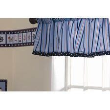 <strong>Lambs & Ivy</strong> Sail Away Curtain Valance