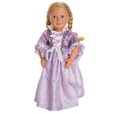 Royal Rapunzel Doll Dress