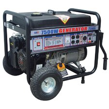 7500 Watt Portable Gas Generator