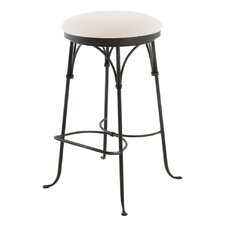 "Shaker 30"" Swivel Bar Stool with Cushion"