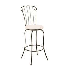 "Coventry 30"" Swivel Bar Stool with Cushion"