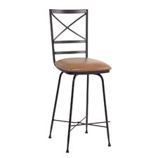 "Xanadu 30"" Swivel Bar Stool with Cushion"