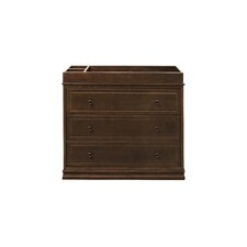 Louis 3 Drawer Changer Dresser