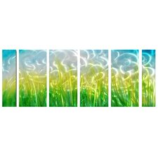 <strong>Pure Art</strong> Fields of Green Handcrafted Aluminum