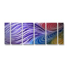 <strong>Pure Art</strong> Rainbow Refraction Handmade Aluminum