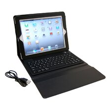 Ipad Leather Bluetooth Keyboard Cover
