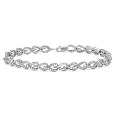 <strong>Dazzling Rock</strong> Diamond Tennis Bracelet