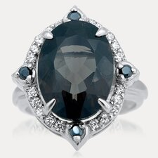 <strong>Drukker Designs</strong> Russian Beauty Sterling Silver Gemstone Ring