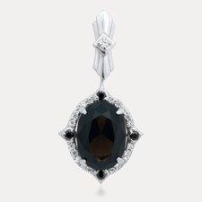 Russian Beauty Sterling Silver Gemstone Pendant