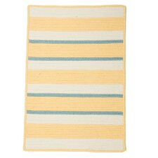 <strong>Panama Jack Home</strong> Republic Sun Yellow Striped Rug