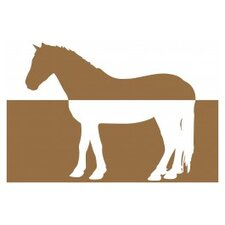 Modern Horse Sepia Placemat (Set of 50)