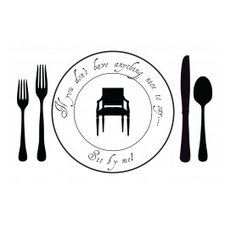 <strong>Plat Du Jour</strong> Sit by Me Placemat (Set of 50)