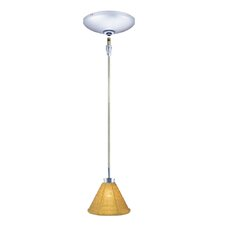 Halle 1 Light Pendant and Canopy Kit