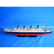 "30"" RMS Britannic Limited Cruise Ship"