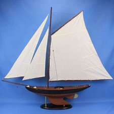 <strong>Handcrafted Model Ships</strong> Newport Sloop Model Ship