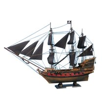 <strong>Handcrafted Model Ships</strong> Captain Kidd's Adventure Galley Limited Model Ship