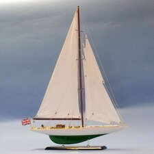 <strong>Handcrafted Model Ships</strong> Shamrock Limited Model Yacht