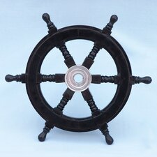 Deluxe Class Pirate Ship Steering Wheel Wall Décor