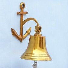 Anchor Hanging Bell Wall Décor