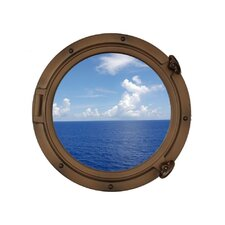 Porthole Window Wall Décor