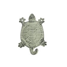 "6"" Cast Iron Turtle Key Hook"