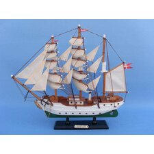 <strong>Handcrafted Model Ships</strong> Danmark Model Ship