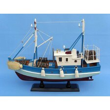 <strong>Handcrafted Model Ships</strong> Outrigger Fishing Model Boat