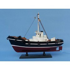 <strong>Handcrafted Model Ships</strong> Drift Wood Fishing Model Boat