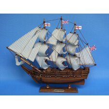 <strong>Handcrafted Model Ships</strong> Darwin's HMS Beagle Model Ship