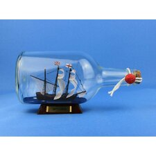 <strong>Handcrafted Model Ships</strong> Mayflower Model Ship in a Bottle