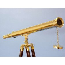 <strong>Handcrafted Model Ships</strong> Floor Standing Harbor Master Telescope
