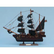 <strong>Handcrafted Model Ships</strong> Ed Low's Rose Pirate Model Ship