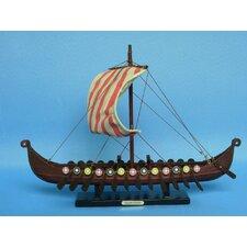 Viking Drakkar Long Model Ship