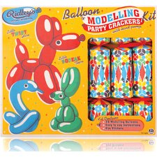 Kids Ridley's Balloon Modelling Party Crackers