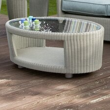 Dune Oval Woven Coffee Table